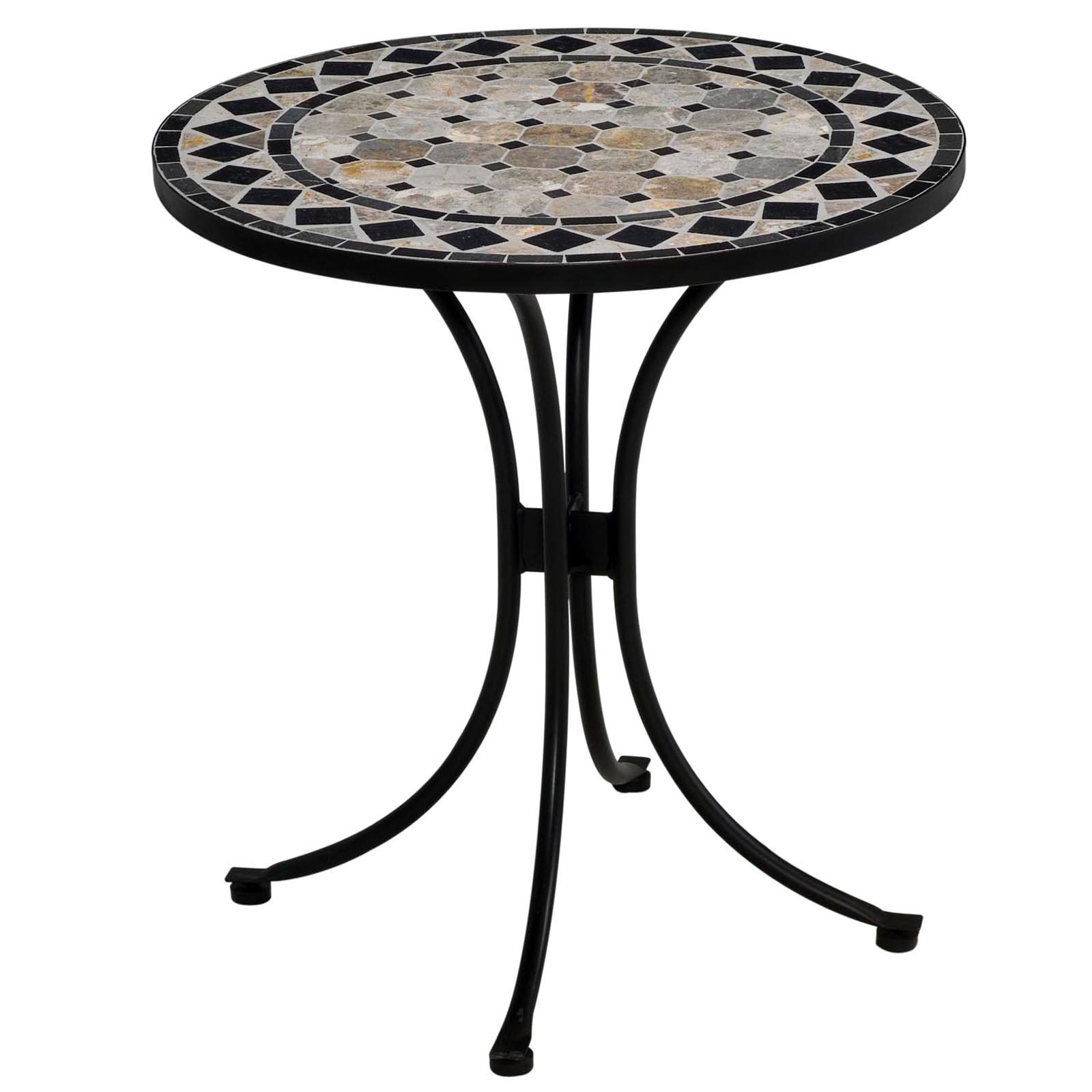 Home Styles Terra Cotta Tile Top Outdoor Bistro Table