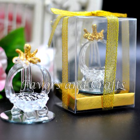 12 Quinceanera Favors Recuerdos Cinderella Glass Carriage Mis XV Sweet 15 - Sweet 15 Themes