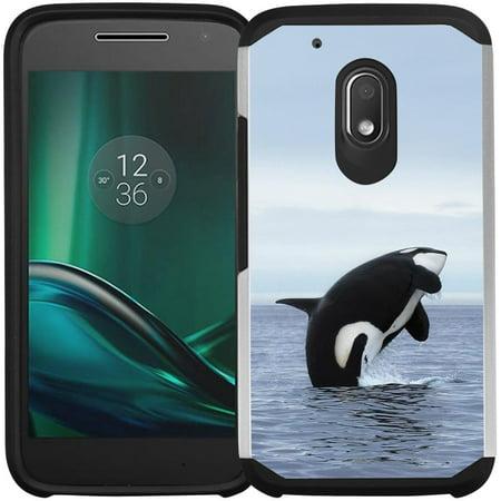 detailed look af1de 05e65 Moto G4 Play Case, Moto G Play Case - Armatus Gear (TM) Slim Hybrid Armor  Case Protective Phone Cover for Motorola Moto G4 Play XT1607 / XT1609 (DOES  ...