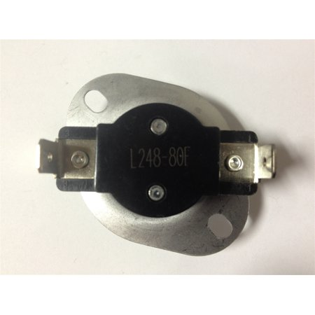 3390291, 53-0771 Thermostat Dryers This is an Aftermarket replacement part Universal Thermostat For Dryers. Temp: L248-802 WireAlso Replaces: 53-0771