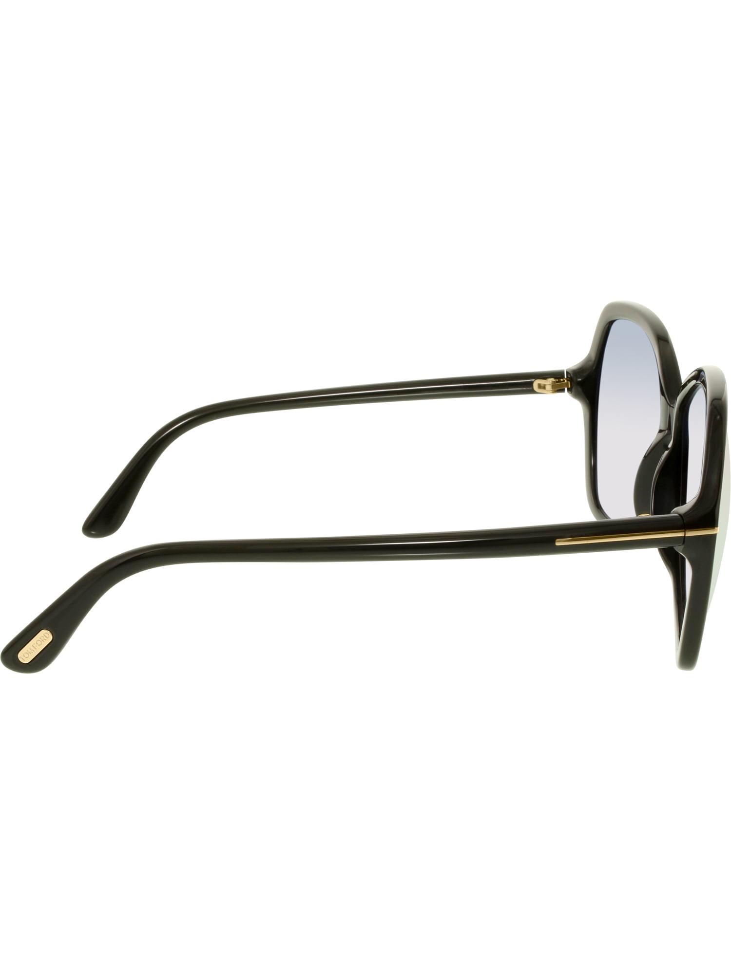 45e31f7d82b Tom Ford - Tom Ford Women s Gradient Carola FT0328-01B-60 Black Butterfly  Sunglasses - Walmart.com