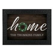 Personalized Forget Me Not Home Indoor / Outdoor Doormat