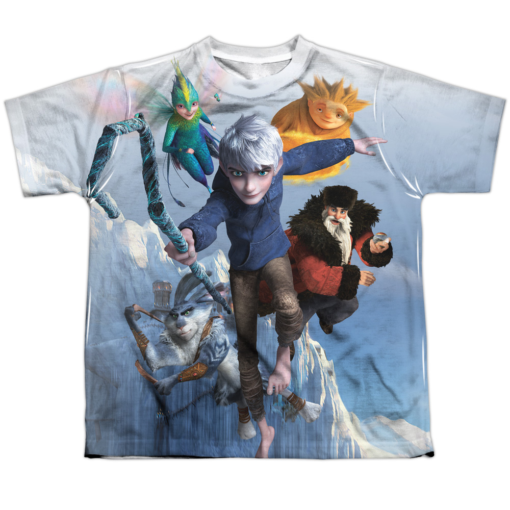 Rise Of The Guardians Together Now Big Boys Sublimation Shirt