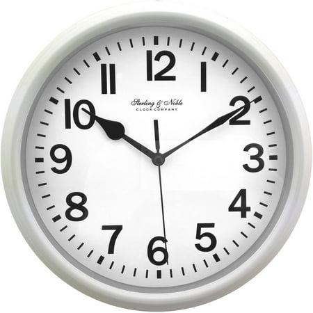Mainstays 8 78 Quot Basic Clock White Walmart Com