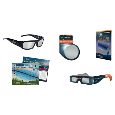 Eclipsmart Ultra Solar Observing   Imaging Kit Includes Iso Certified Solar Sunglasses  Four Eclipse Viewers  Camera Solar Filter  2017 Total    By Celestron