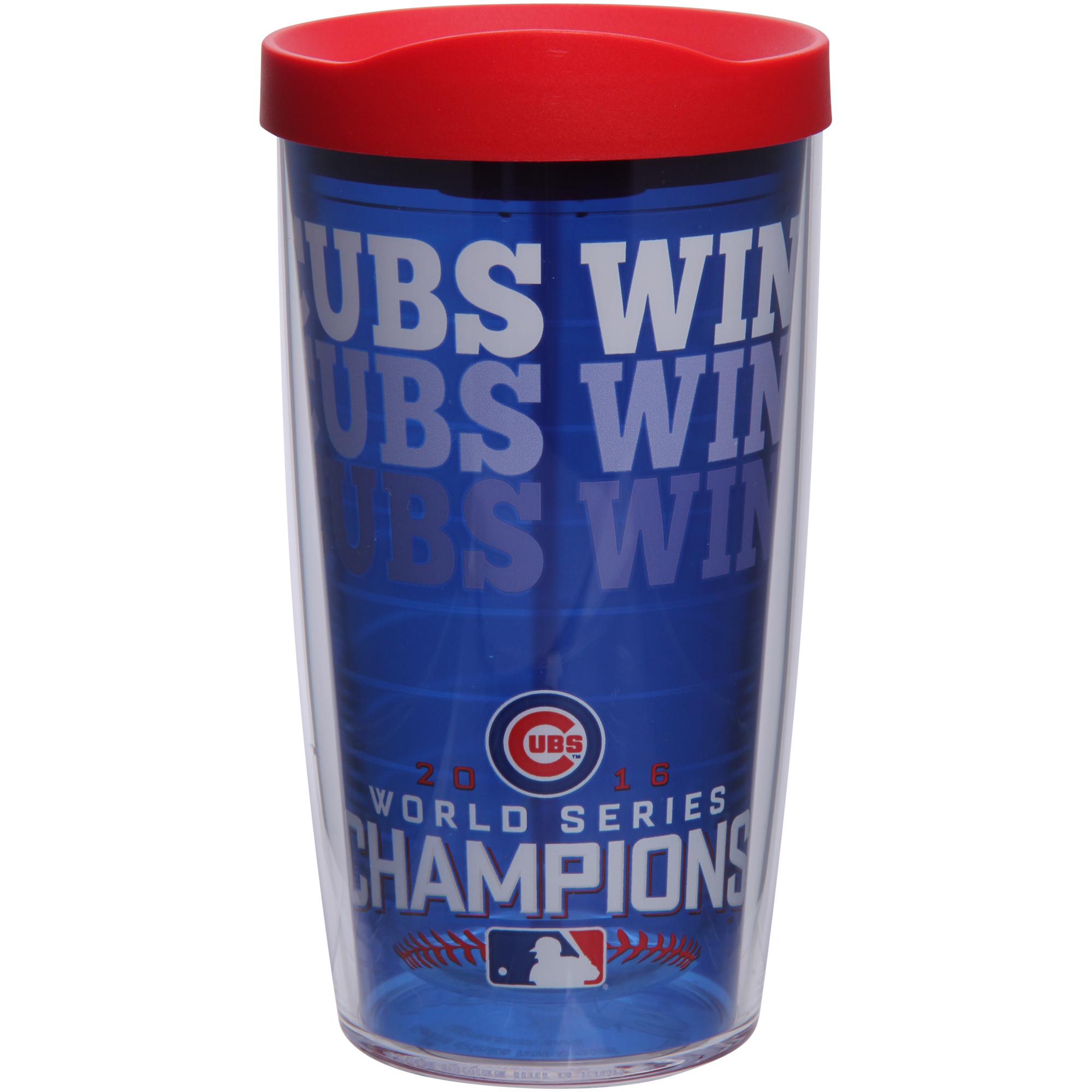 Chicago Cubs Tervis 16oz. 2016 World Series Champions Cubs Win Tumbler - No Size