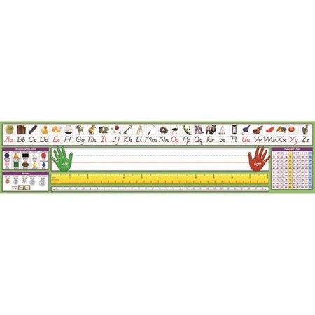 North Star Teacher Resource NST9041BN 17.5 x 4 in. Modern Manuscript Desk Plate - 36 per Pack - Pack of 2 - image 1 of 1