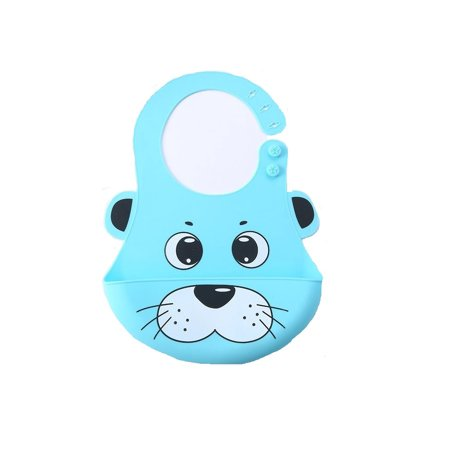 Most Hygenic Silicone Baby Bib with Cute Characters, Blue Panda by Baby Classic + Cat Line Makeup Tutorial](Cute Cat Makeup Tutorial Halloween)