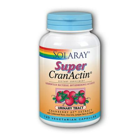 Solaray Super CranActin Urinary Tract 120 Vegetarian Capsules