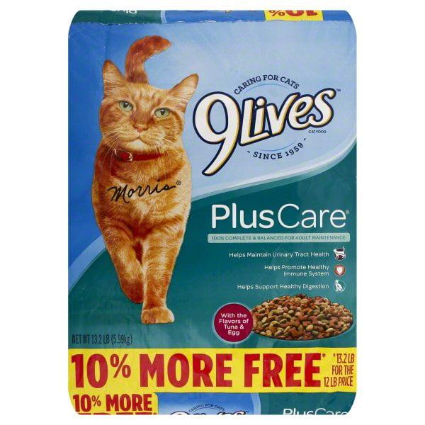 9Lives Plus Care Dry Cat Food Bonus Bag, 13.2-Pound by The J.M. Smucker Company
