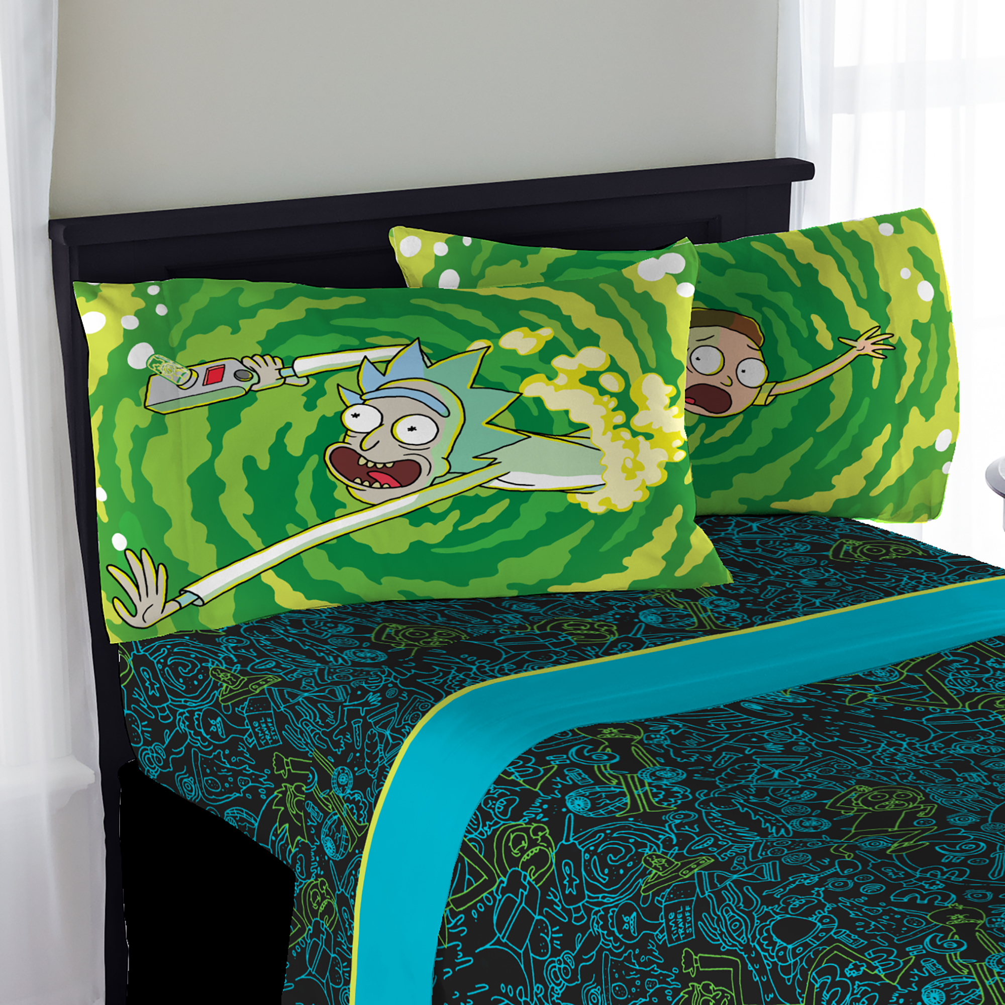 Attractive Rick And Morty Teens Bedding Sheet Set