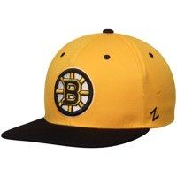 Product Image Boston Bruins Zephyr Z11 Snapback Adjustable Hat - Gold Black  - OSFA 6e61fcdbe1be