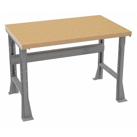 "Workbench,Butcher Block,48"" W,30"" D TENNSCO WB-1-3048W"