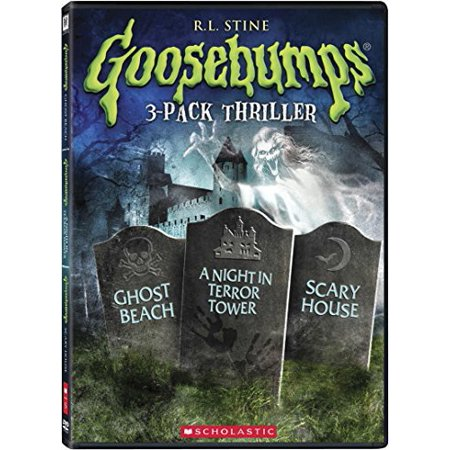 Scary Things To Do On Halloween Night (Goosebumps: Scary House / Ghost Beach / a)