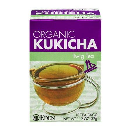 Eden Organic Kukicha Brindille Sachets de thé - 16 CT