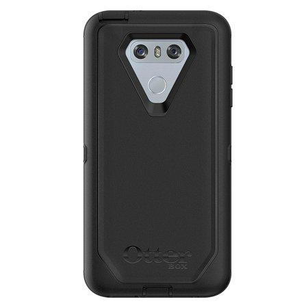 OtterBox Defender Case for LG G6 & Belt Clip - Black ()