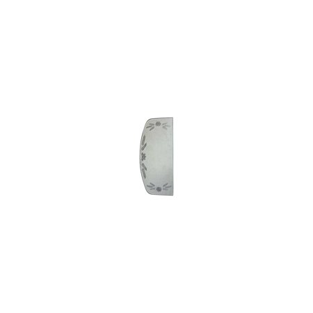 Sedan Auto Car Part (MACs Auto Parts Premier  Products 28-25346 Model A Ford Windwing Glass - Etched Leaf Design - For Closed Cars (Coupe & Sedan) Only )