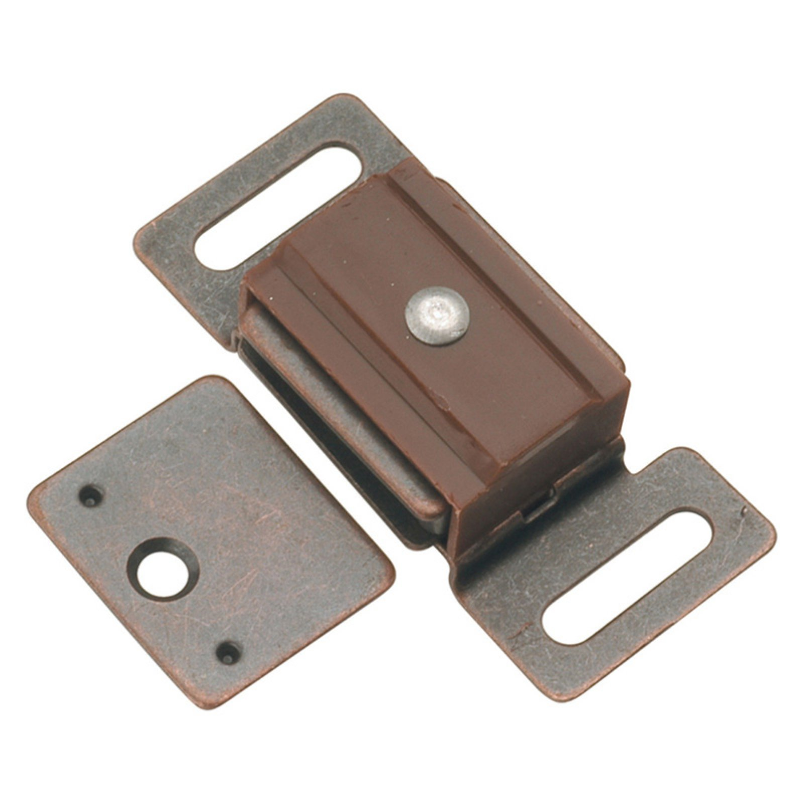 Hickory Hardware Statuary Bronze Magnetic Catch - Set of 2