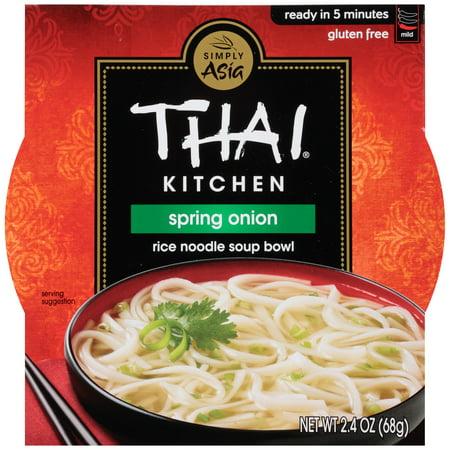Thai Kitchen Spring Onion Soup Bowl