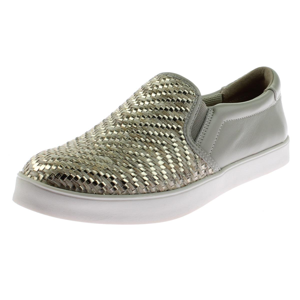 Dr. Scholl's Womens Scout Weave Metallic Woven Fashion Sneakers