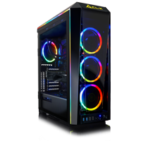 CLX Set Liquid-Cooled AMD Ryzen 9 3900X 3.8GHz, NVIDIA GeForce RTX 2080 SUPER 8GB, 32GB DDR4 (RGB), 1TB NVME + 4TB HDD, Black Mid-Tower RGB Lighting Tempered-Glass