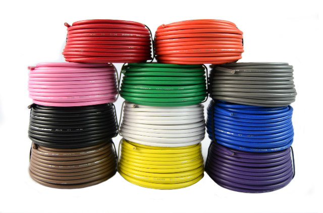 16 Gauge Single Conductor Stranded Remote Primary Wire 11 Rolls 12 Volt 25 Feet