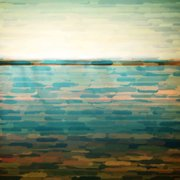 "Parvez Taj ""Ormond Beach"" Print on Canvas"