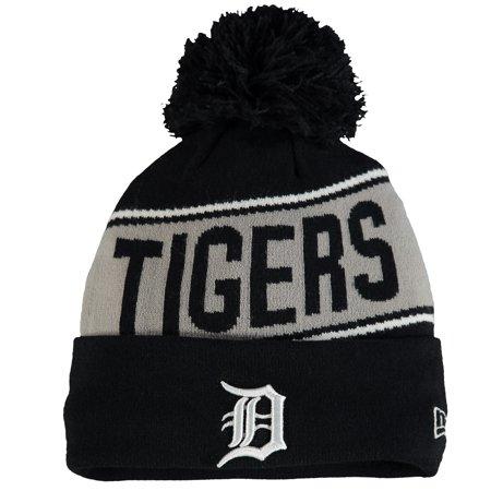 e92c68645b4 Detroit Tigers New Era Youth Team Chant Knit Hat - Navy - OSFA - Walmart.com