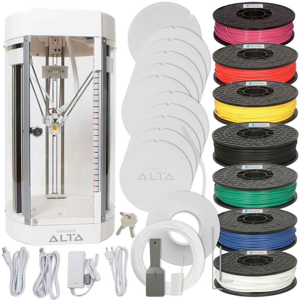 Silhouette Alta 3D Printer Bundle