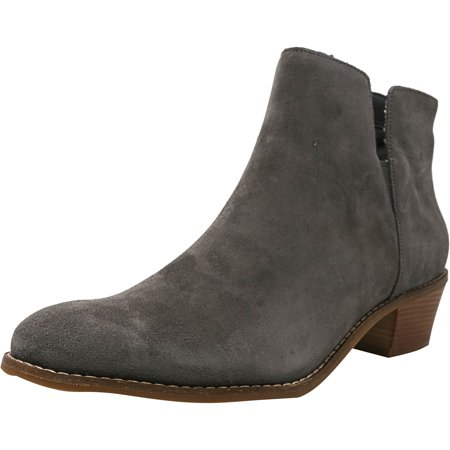 Cole Haan Women's Abbot Suede Stormcloud Ankle-High Boot - 7.5M (Chukka Boots Cole Haan)