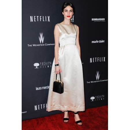 Alexa Chung At Arrivals For The Weinstein Company 2014 Golden Globes After Party - Part 2 Trader VicS Bar & Lounge At The Beverly Hilton Beverly Hills Ca January 12 2014 Photo By