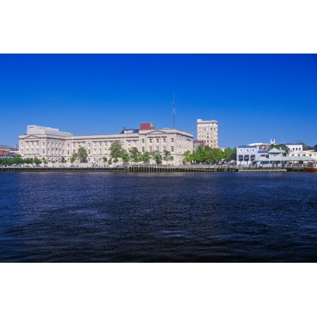 Wilmington NC skyline Poster Print by Panoramic Images - Halloween Stores In Wilmington Nc