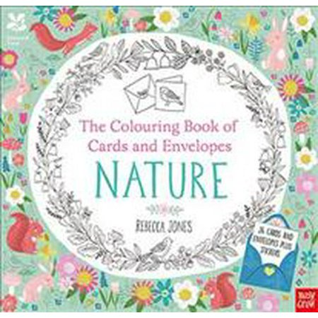 The National Trust: Colouring Book of Cards and Envelopes: Nature (Paperback)