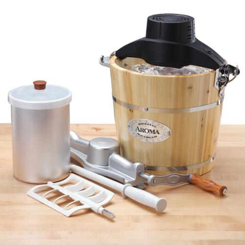 Aroma 6-Qt. Traditional Ice Cream Maker