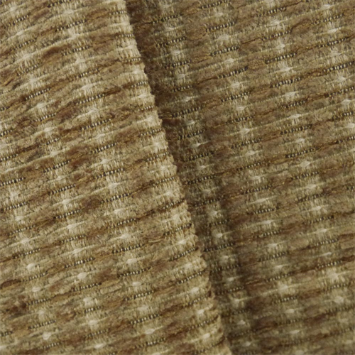 Cinnamon Brown Valdese Redeem Chenille Upholstery Fabric, Fabric By the Yard