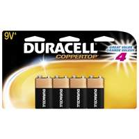 Duracell Coppertop 9V Household Batteries 4 Count