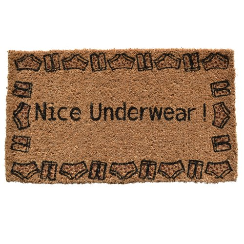 Imports Decor Creel Nice Underwear Doormat