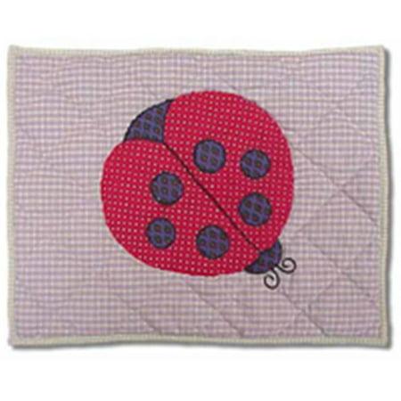 Patch Magic CTPLADY coccinelle, Lit Toss Pillow 16 x 12 po. - image 1 de 1