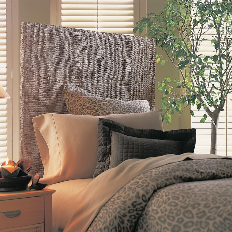 Padma's Plantation Grass Weave Headboard - (Queen)