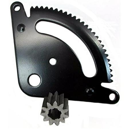 One (1) Steering Sector & Pinion Gear Fits John Deere LA Series GX21924BLE GX20053