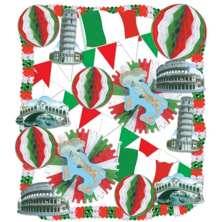 Italian Decorating Kit - 23 Pcs (Pack of - Italian Party