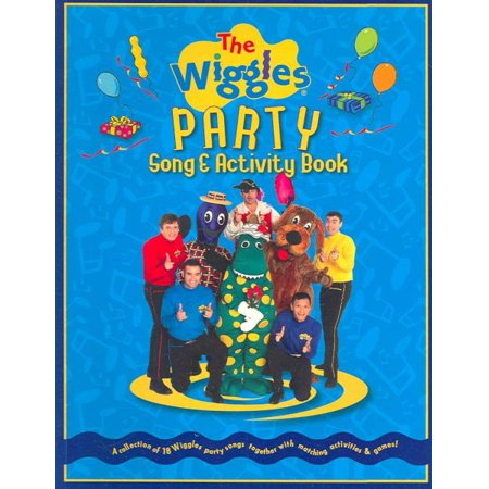 The Wiggles Party Song & Activity Book