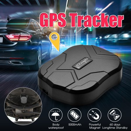 GPS Tracker for Vehicles, TKSTAR TK905 Waterproof  Real Time Magnetic Small GPS Tracking Device Locator for Car Motorcycle Truck Personal Kids Teens Elderly  Life Time