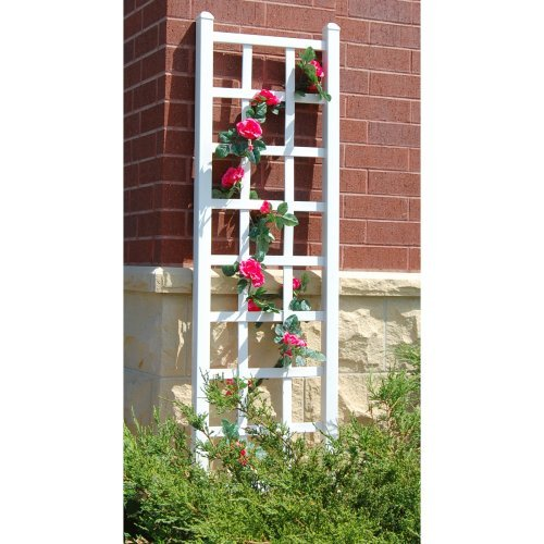 Dura-Trel Elmwood 6.25-ft. Vinyl Wall Trellis