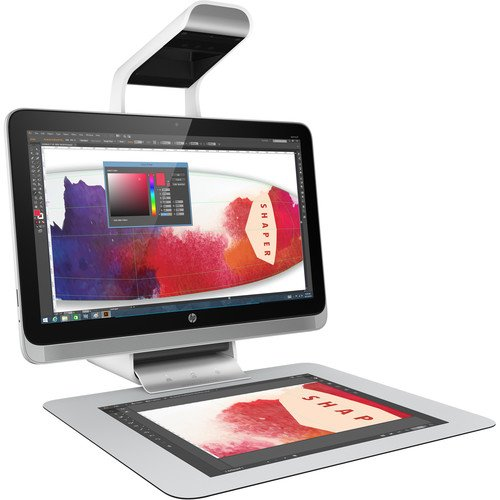 Click here to buy Hp Sprout Pro All-in-one Computer Intel Core I7 [6th Gen] I7-6700 3.40 Ghz Desktop White 8 Gb Ddr4 Sdram Ram 1 Tb Hhd... by HP.