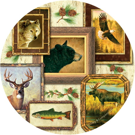 Thirstystone Occasions Drink Coasters, Wildlife