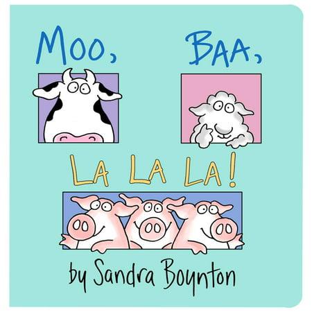 Moo Baa La La La (Board Book) (Comic Book Art Boards)