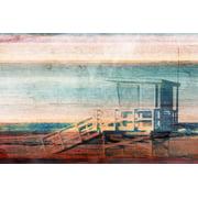 "Parvez Taj ""Beach Safety"" Print on Canvas"