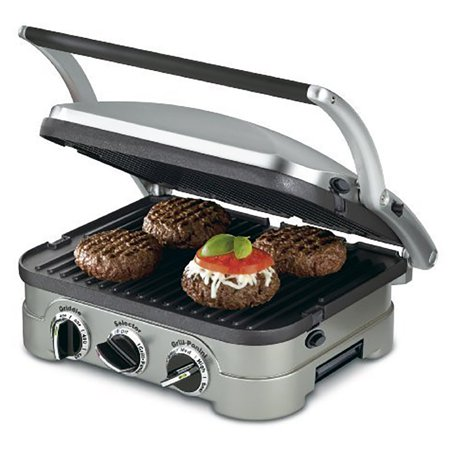Cuisinart Grill, Panini Press, Flat Grill, & Griddle (Certified