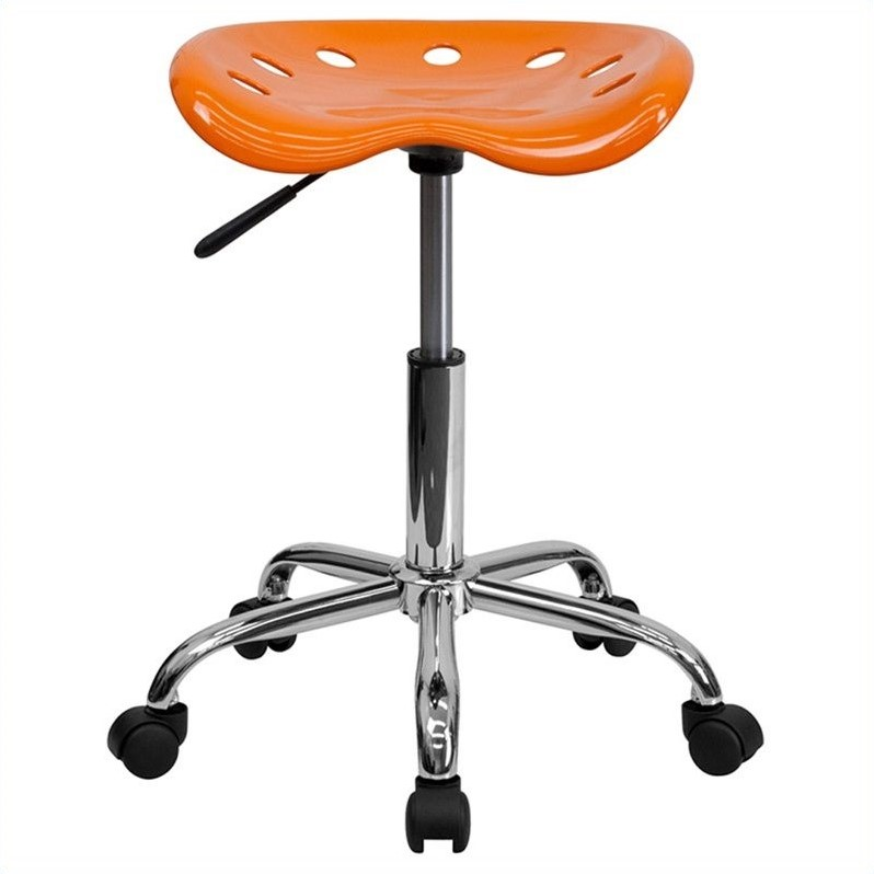 Adjustable Height Task Stool with Tractor Seat, Multiple Colors